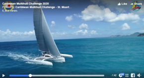 Ineffable shines in Caribbean Multihull Challenge 2018