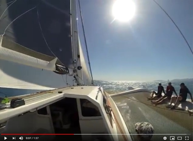 Video: Rapido 60 at 24 knots, Airlie Beach 2018