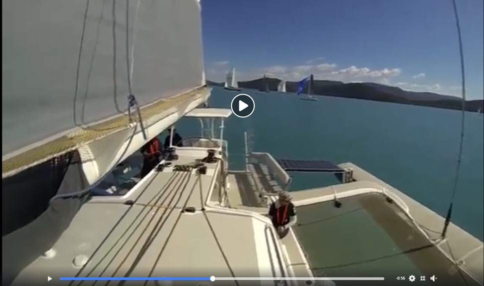 Video: Romanza's crew reflects during Airlie Beach Race Week, 2018