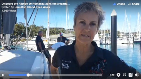 Live video interview with Rapido 60 owners during Hamilton Island Race Week 2018