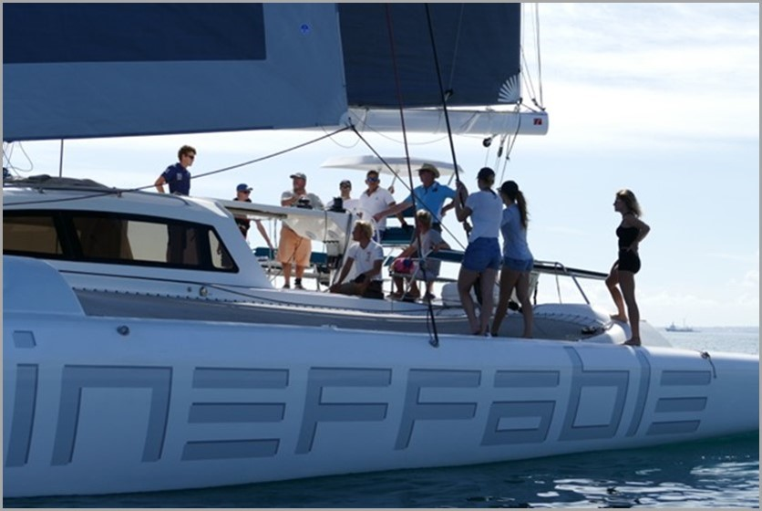 The Rapido 60, Ineffable (see above), is now available for charter.
