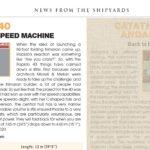 "Multihulls World magazine writes on Rapido 40, ""a folding speed machine""."