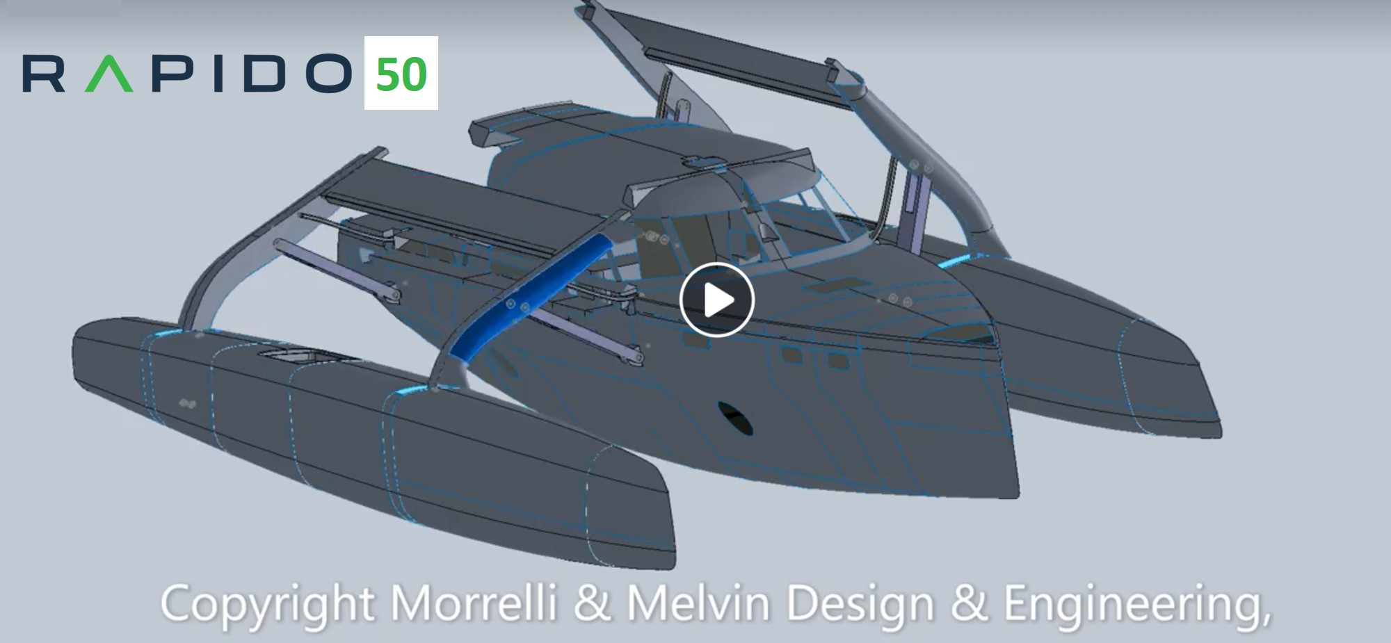 Video: Patented folding mechanism for Rapido 50