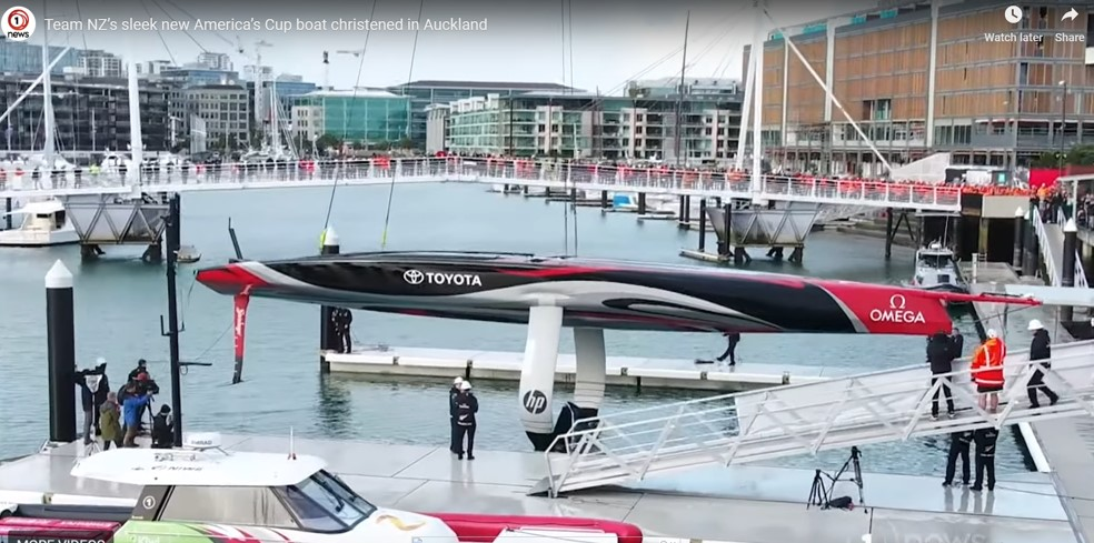 Buy a Rapido – free shipping / delivery to America's Cup 2021