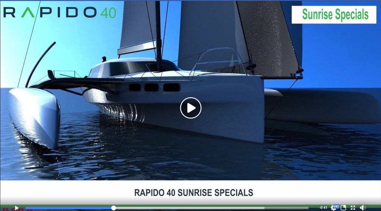 Video: Rapido 40 Sunrise Specials and Lighthouse Guarantee