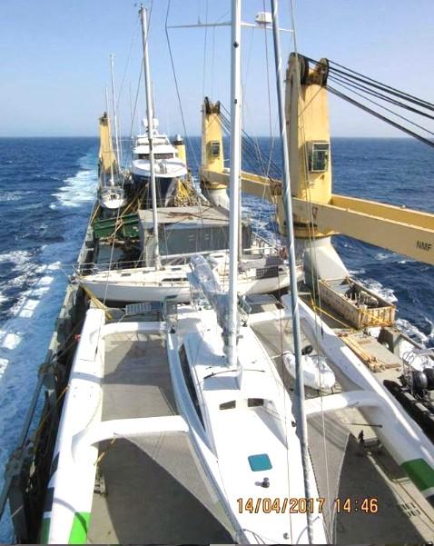 Shipping a Rapido Trimaran