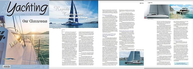 SEA Yachting magazine visits Rapido 40, 50 and 60!